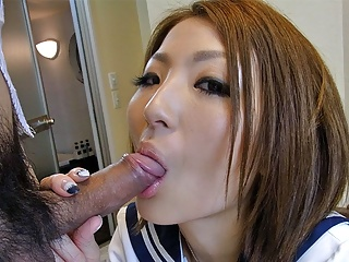 Japanese schoolgirl, Reiko is ambitious and likes wild sex,