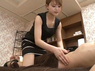 Amazing Japanese whore Akiho Yoshizawa in Crazy handjobs, milfs JAV clip