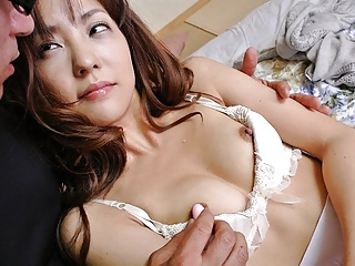 Japanese housewife, Nami Honda lets the neighbor satisfy her