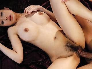 Japanese delight, Yui Misaki got a hot DP, uncensored