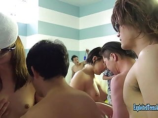Jav Amateurs Get Gangbang At Swimming Pool Uncensored Action