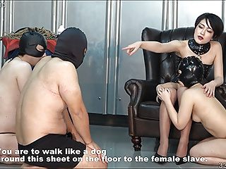 Japanese BDSM Strapon and Spanking Whipping