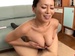 Mom with large boobs, first- More at Japanesemamas.com
