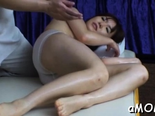 Wicked exotic beauty with impressive tits gets beaver licked