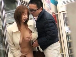 Slutty eastern maid Tsubasa Arai craves for fuck