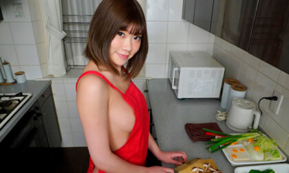 Yuuna Ishikawa Naked Apron Cooking Nabe Creampie Sex Part 1 - SexLikeReal