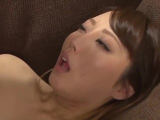 Insatiable, Japanese housewife is having sex with her husband's step- father, and enjoying it a lot