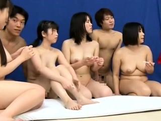 Messy cum shower after hardcore anal barebacking