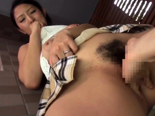 Hot Asian Japanese Married Milf Seduces Younger Guy
