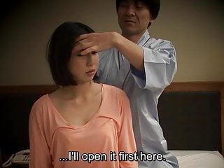 Subtitled Japanese hotel massage oral sex nanpa in HD