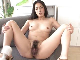 Hottest Japanese girl Kyoka Ishiguro in Fabulous JAV uncensored Lingerie scene