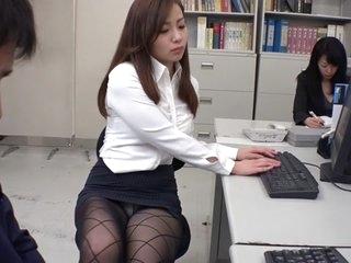 Exotic Japanese model Remi Sasaki, Ren Ayase, Miyuki Ojima, Hikaru Shiina in Hottest secretary, couple JAV clip
