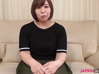 Chubby Konori Sasahara rides asian dick