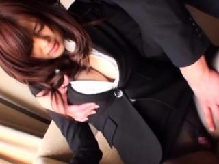 Raunchy exotic lady Ramu Hoshino fucked properly