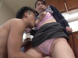 Mother caressed son's nipple / Sae Fujinami