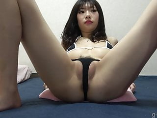 Tight Bikini Cameltoe Japanese Girl Webcam