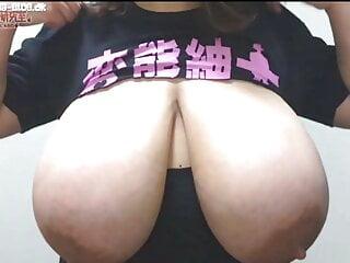 Huge Japanese Tits