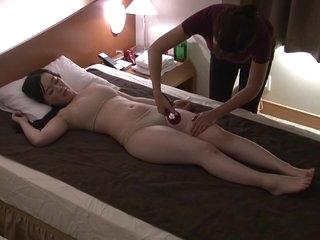 Japanese Cuckold Hotel Massage - Massage