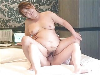 granny fucking reverse cowgirl position