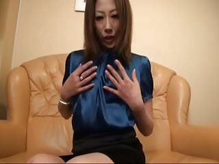 Cum on Her Blue Blouse